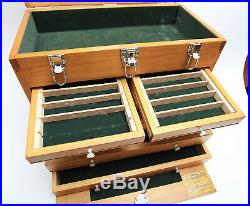 Windsor Design 8 Drawer Tool Chest 8 Drawer Hard Wood Hobby Collection
