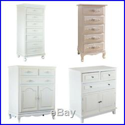 Wood White Modern Concise Style Dressers Side Cabinet Table Chest of Drawers