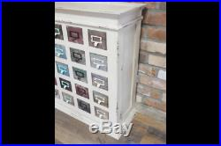 Wooden Cabinet 20 Drawers Vintage Retro Storage Home Living Furniture Chest Unit