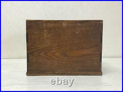 Y1490 TANSU chest of drawers wood tamamoku interior Japanese antique Japan
