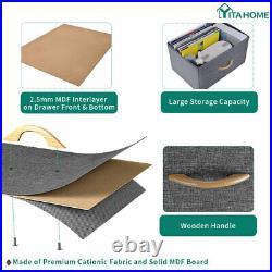 YITAHOME 10-Drawer Chest of Storage Drawer Dresser Organizer Bedroom Furniture