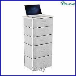 YITAHOME Storage Drawers Dresser Furniture 4/5 Bins Bedroom Chest of Organizer
